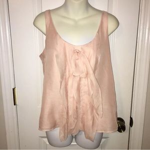 Loft women's small blush blouse
